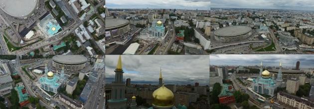 Соборная мечеть. Москва. 23.09.2015.