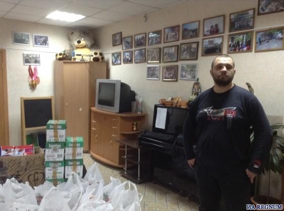 Беженцам с Украины в Барнауле помогают националисты