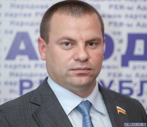 Депутат парламента Южной Осетии от Народной партии Эрик Дудаев