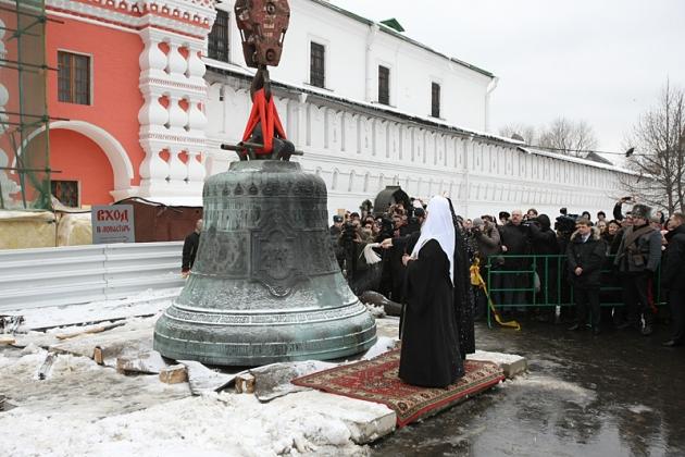 В Москве пройдёт фестиваль русских звонов «Даниловские колокола»