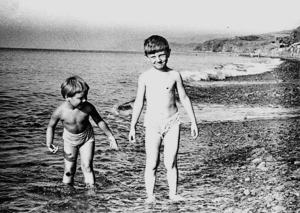 Дети в Крыму.