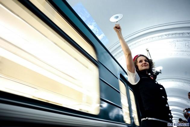 Участок «зеленой» линии московского метро закроется 26 сентября