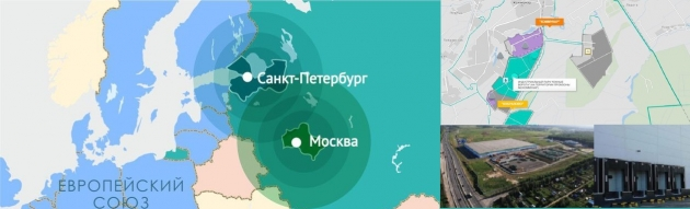 ООО «Южные ворота», в Московской и Ленинградской области.