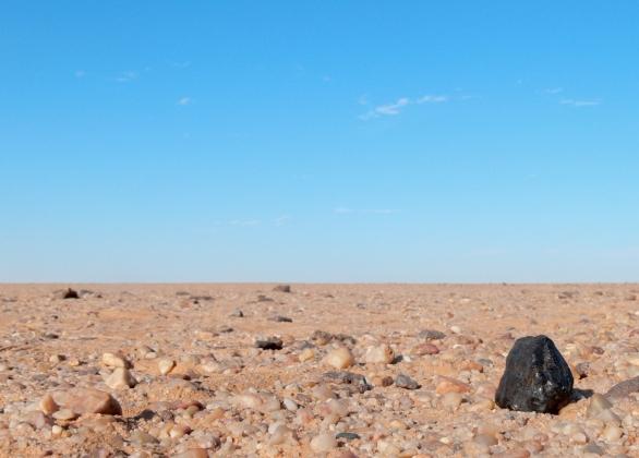 Видеоинсталляция «Большая метеоритная ловушка» представлена в Петербурге
