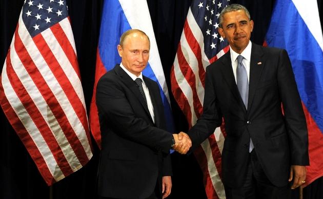 Встреча В.В.Путина с Б.Обамой. 29.09.2015