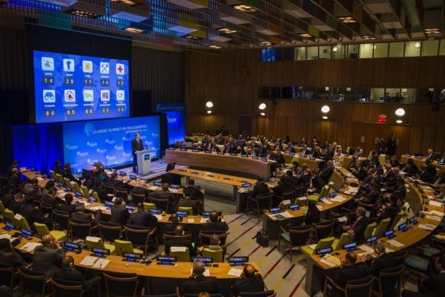 П.Порошенко на ген.ассамблее ООН.