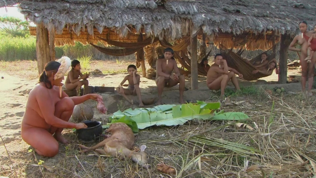Индейцы Амазонки.