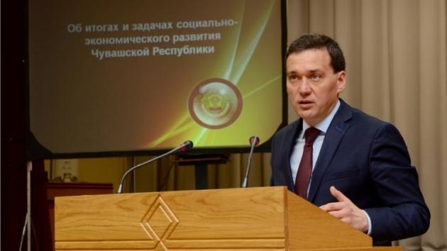 Председатель кабинета министров Чувашской Республики  Иван Моторин. Фото:  gov.cap.ru