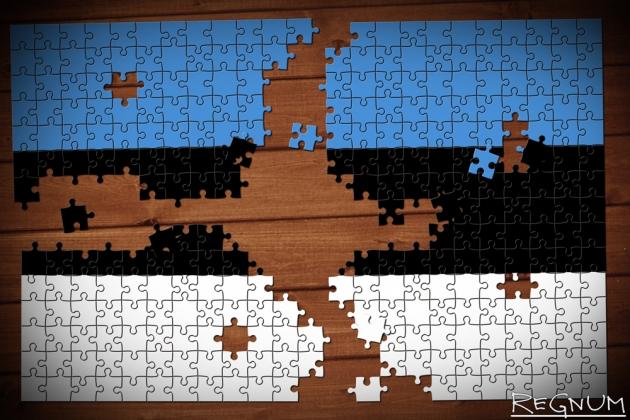 Флаг Эстонии. Иллюстрация ИА  REGNUM