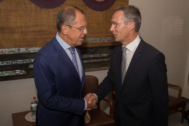 Лавров и Столтенберг: перемирие в Донбассе сохраняется