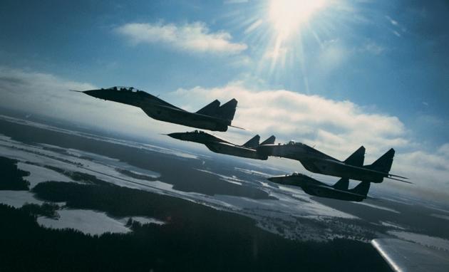 Военно воздушные силы РФ.