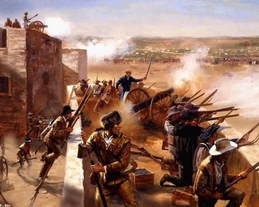 Джим Карсон. Война за независимость Техаса.