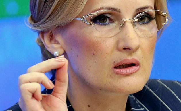 Глава комитета Госдумы по безопасности Ирина Яровая.