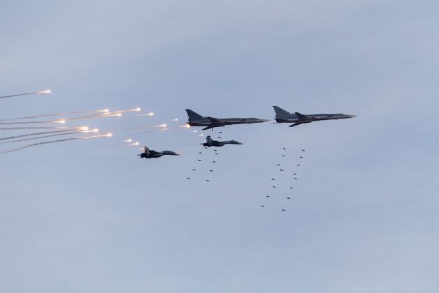 Учения ВВС РФ «Центр-2015». сент.2015.