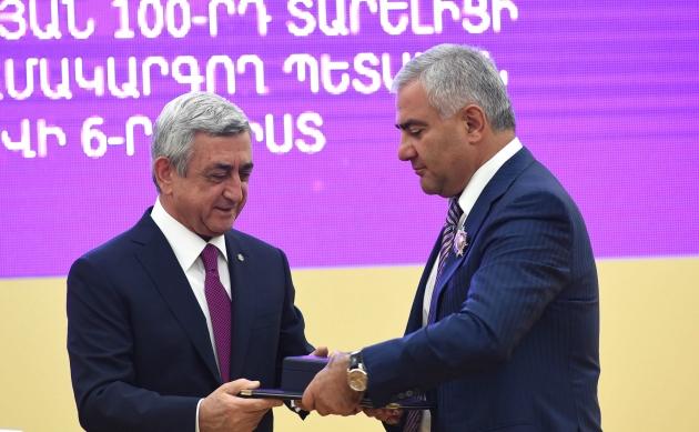 Самвел Карапетян официально назван покупателем «Электросетей Армении»