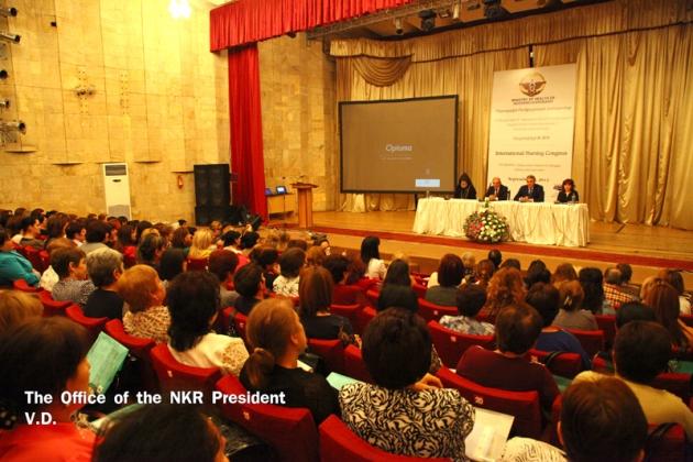 В Степанакерте прошёл международный конгресс медсестёр