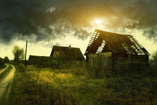 Вымирающая деревня.