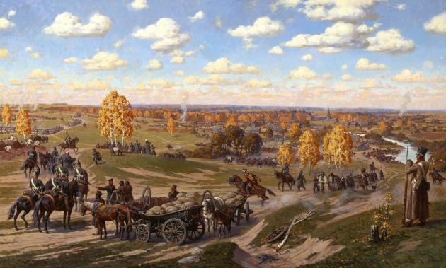 Александр Аверьянов. Тарутино, 1812 г