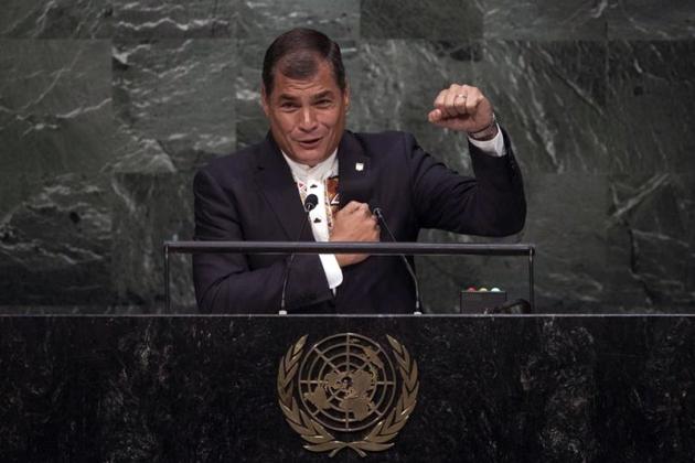 Президент Эквадора: «Развитие— это хорошая жизнь для всех»