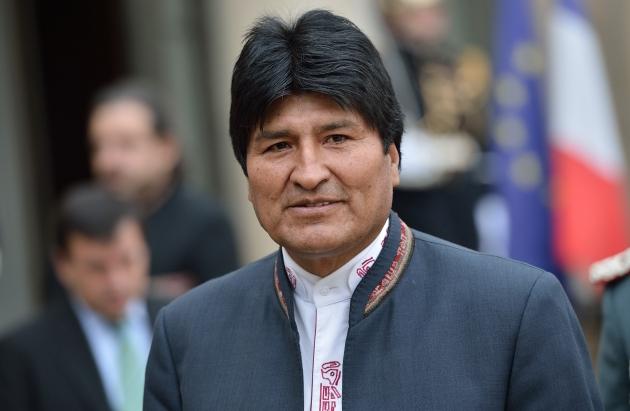 Эво Моралес— Президент Боливии.  Мллюстрация: klikbumi.blogspot.ru