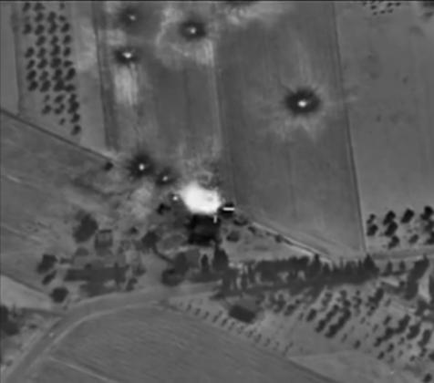 Российские Воздушно-космические силы (ВКС) уничтожили инфраструктуру лагеря подготовки боевиков террористической группировки «Исламское государство»