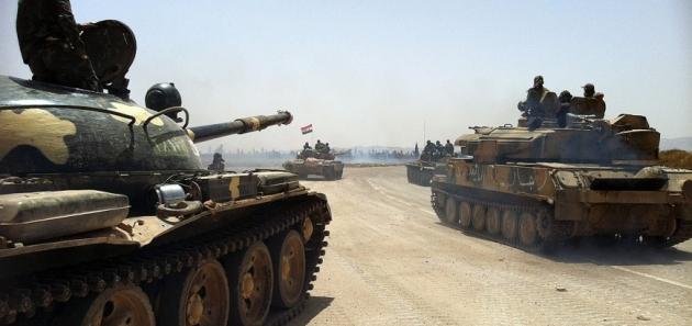 Сирийская армия готовится к наступлению в провинции Хама