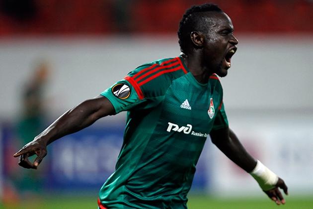 Московский «Локомотив» вышел в лидеры группы в Лиге Европы.