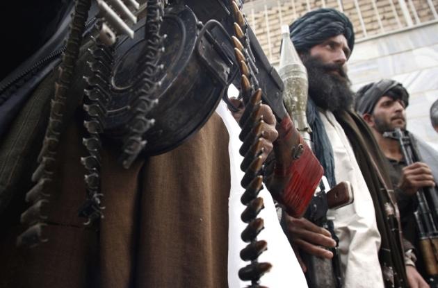 Боевики движения «Талибан»