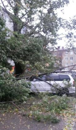 Последствия циклона на Сахалине. 02.10.2015.