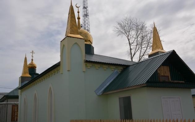 Мечеть в ИК-2.