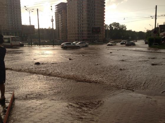 Пермь, дождь.