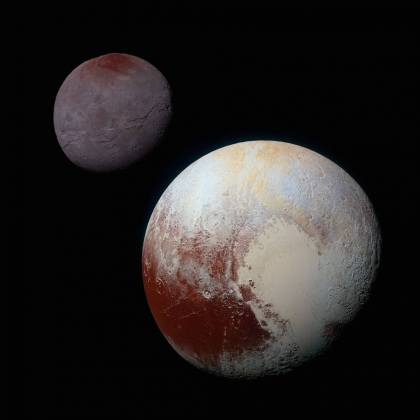 NASA опубликовали снимки самого большого спутника Плутона