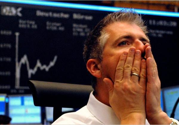 Крах спекулянта на бирже.