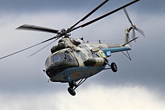 Ми-8. Украинские ВВС,