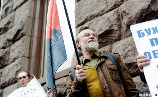 Учителя и преподаватели митинговали у здания Минобрнауки