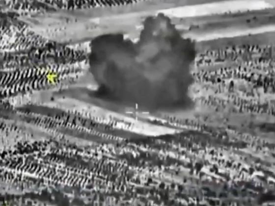 Штурмовиками Су-25 в сирийской провинции Идлиб полностью разрушен крупный цех по производству фугасов и самодельных взрывных устройств.