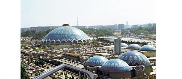 Chorsu bazaar, район учений ГУВД Ташкента.