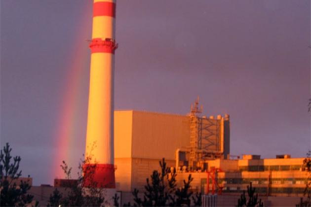 Шторм в Финском заливе привел к остановке третьего энергоблока ЛАЭС