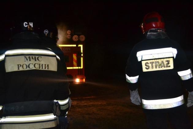 Пожарные из Калининграда приняли участие в учениях в Польше