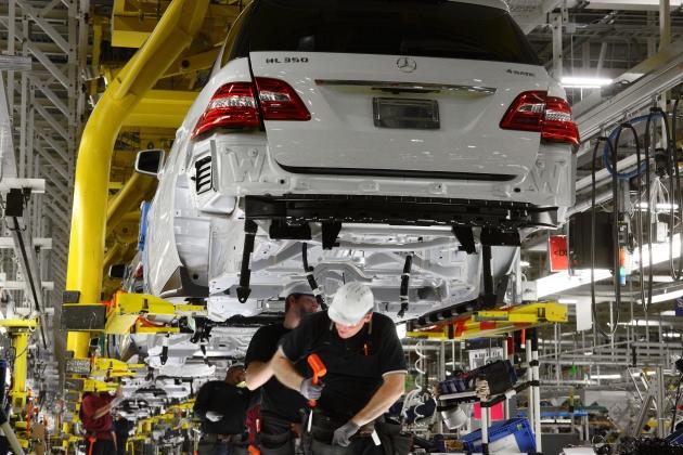 Daimler. Производственный цех.