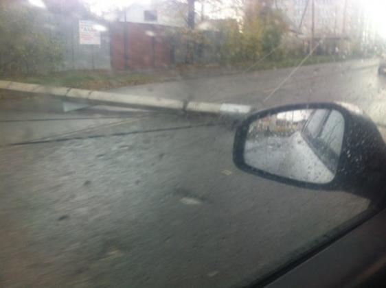 Последствия урагана в Барнауле, фото Barnaul.22