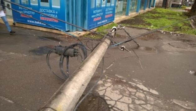 Последствия ураганного ветра в Барнауле, фото Barnaul.22