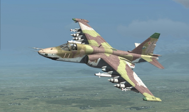 Самолет СУ 25.