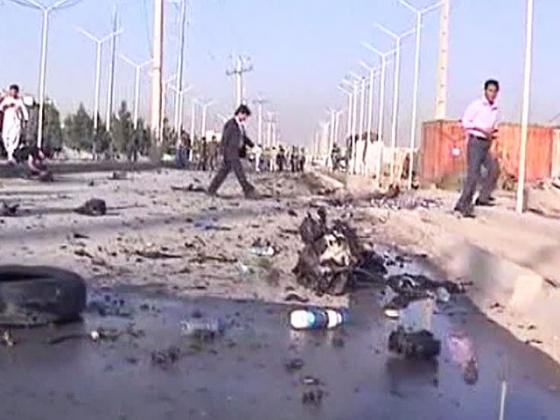 Последствия взрыва у посольства Российской Федерации в Кабуле