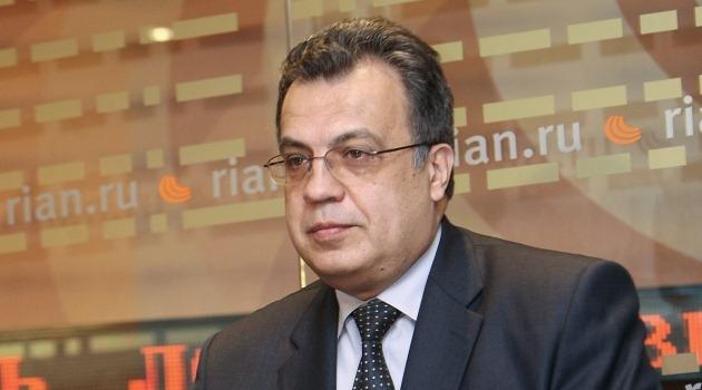 Андрей Карлов—  посол России в Анкаре.