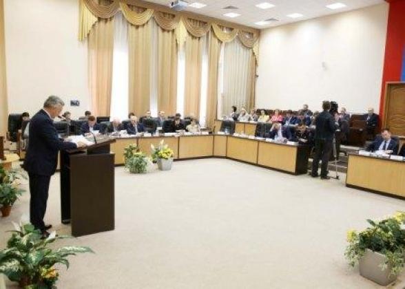 В Калуге завершено становление городской думы нового созыва