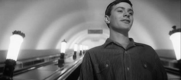 Н.С.Михалков в роли Коли. Цитата х/ф. «Я шагаю по Москве». Реж. Георгий Данелия. (1963).