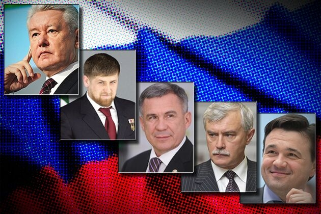 Рейтинг влияния глав субъектов Российской Федерации в сентябре 2015 г