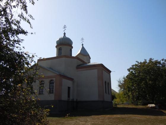 Церквь в селе Глубокое у лимана Сасык.