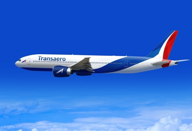 Самолёт компании «Трансаэро»